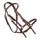 Tucker Halter Bridle Lite w/Brass Horse Brown