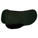 Tucker Semi-Round 3/4in Blk Wool Felt Pad 34x30