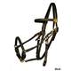 Tucker Beta BioThane Bridle w/Brass Horse Brn