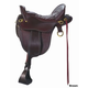 Tucker River Plant Tooled Brss Saddle Wid 18.5 Brn