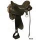 Tucker Vista Smooth Brss Endur Saddle Wid 18.5 Brn