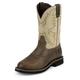 Justin Mens Stampede Steel Waxy Work Boots 14EE