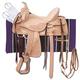 King Series Roma Hard Seat Trail Saddle Package