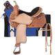 Royal King Blackwell Barrel Saddle Package