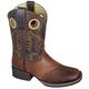 Smoky Mountain Kids Luke Square Toe Boots 13.5