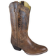 Smoky Mtn Ladies Amelia Rnd Toe Brown Boots 9W