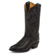 Tony Lama Mens Rnd Toe Black Stallion Boots 13EE