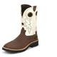 Tony Lama Mens Comp Toe Bark Cheyenne Boots