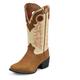 Tony Lama Kids Square Toe Rojo Bridle Boots 6