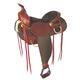 Fabtron Easy Rider Western Trail Saddle 17