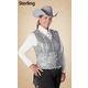 Hobby Horse Ladies Zydeco Vest M Sterling