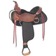 Fabtron Camp and Trail Western Saddle 17