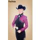 Hobby Horse Ladies Tessa Blouse 3X Fuchsia