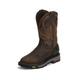 Justin Mens Commander X5 Rnd Toe Work Boots 14EE