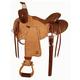 Big Horn Half-Breed Grainout Ranch Roper Saddle 16
