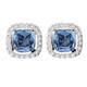 Kelly Herd Blue Earrings