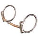Reinsman Copper Mouth Snaffle D-Ring Bit
