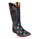 Ferrini Ladies Patchwork Square Toe Boots