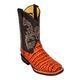 Ferrini Kids Print Belly Caiman Sq Boots 3 Prl