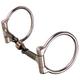 Reinsman Dogbone Roller Snaffle D-Ring Bit