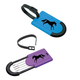 Galloping Horse Luggage Tags Two Pack