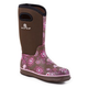 Roper Ladies Rubber Brown Printed Barn Boots