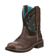Ariat Ladies Fatbaby Dapper Royal Choc Boots