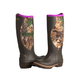 Noble Ladies MUDS Cold Front Realtree Camo Boots