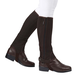 Dublin Adult Easy Care Half Chaps X-Large Brown
