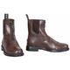 TuffRider Ladies Baroque Zip Pad Boots 11 Mocha
