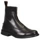 TuffRider Childs Baroque Zip Pad Boots 5 Black