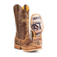 Tin Haul Mens Ichthys Aroundus Sq Toe Boots