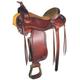 Courts Saddlery Border Stamped Pleasure Saddle 16i