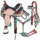 Silver Royal Ashton Barrel Saddle 5-PC Package
