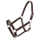 Tough-1 Leather Draft Halter Brown