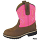 Smoky Mountain Kids Colby Round Toe Boots 7 Tur