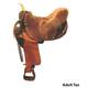 Saddle Guard Sheepskin Rough Cut European Cover Ch