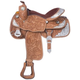 Silver Royal Premium Oak Berry Edge Show Saddle 16