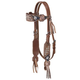 Silver Royal Savannah Browband Headstall w/Fringe
