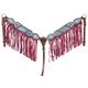 Silver Royal Macaelah Breast Collar with Fringe