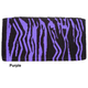 Tough-1 Wild Zebra Wool Saddle Blanket Purple