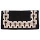 Tough-1 Cross Wool Saddle Blanket Black