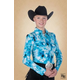 Hobby Horse Ladies Cloudia Blouse 3X Sky