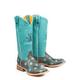 Tin Haul Ladies Holey Moley Square Toe Boots 11