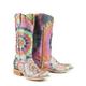 Tin Haul Ladies Groovy Square Toe Boots 11