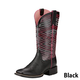 Ariat Ladies Outsider Square Toe Boots 11 Black