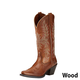 Ariat Ladies Round Up Maddox D Toe Boots 11 Wood