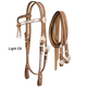 Silver Royal Futurity Show Headstall Dark Oil