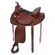 King Draft Saddle 17.5 Brown