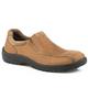 Roper Mens Burly Slip-On Tan Shoes 14